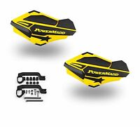 PowerMadd SENTINEL Handguard Guards KIT Yellow/Black Can Am Outlander ATV 34406