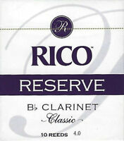 Rico Reserve #4 Bb Clarinet Reeds (10 Count) QuinnTheEskimo