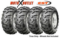 Honda Atv Rancher Tires 24X8-12 24x10-11 CST ANCLA Set of 4x4 350 400 420