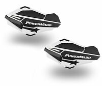 PowerMadd Sentinel Replacement ATV Handguards Hand Guards White Black 34408