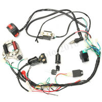 CDI WIRE HARNESS STATOR ASSEMBLY WIRING FIT ATV ELECTRIC QUAD 70 90 110CC 125CC