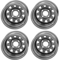 4 ATV/UTV Wheels Set 12in ITP Delta Steel Silver 4/110 5+2/2+5 SRA
