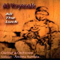 Al Kryszak - All The Luck (Clarinet & Orchestra) [CD New]