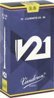 Clarinet Reed Sib / BB Vandoren V21 All Forces - Box Of 10 Reeds