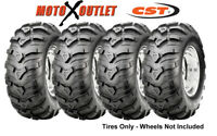 Ancla Atv Tires 25x8-12 25x10-12 Set of 4 CST 2 Front and Rear 6 Ply Rated