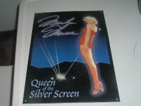 MARILYN MONROE Queen of the Silver Screen Vintage Advertising Tin Sign