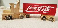 Coca Cola Truck Coin Bank - Toy Car handmade in Mexico