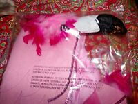POTTERY BARN KIDS PINK FLAMINGO COSTUME, NEW, SIZE 4, 5, 6