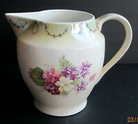 ANTIQUE WINONA POTTERY MILK JUG PITCHER c. early 1900's