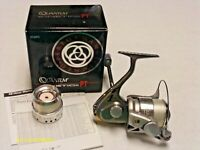 Zebco Quantum Kinetic KT20PTi Spinning Reel w/Box, Some Papers, Extra Spool