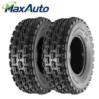 ~2 NEW 22x7-10 ATV Tires for Honda TRX450R Yamaha YFZ350 Banshee