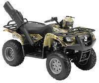 NewRay Die-Cast 1:12 Scale ATV/Quad/4-Wheeler Vinson 500 4X4 Green Camo