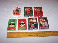 COCA COLA Playing Cards - Lot of 7 Unused Decks - ALL FACTORY SEALED