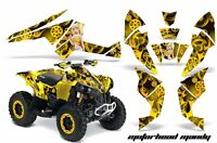 ATV Decal Graphics Kit Quad Wrap For Can-Am Renegade 500 X/R 800X/R 1000 MM YLLW