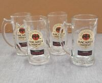 Bacardi Oakheart Smooth Spiced Rum Glass / Stein (Set of 4)