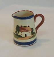 Vintage Torquay Motto ware Pitcher.. Cottage &