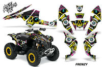 ATV Decal Graphics Kit Quad Wrap For Can-Am Renegade 500 X/R 800X/R 1000 FRENZY