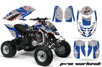 ATV Graphics Kit Decal Quad Wrap For Can-Am Bombardier DS650 DS 650 WARHAWK BLUE