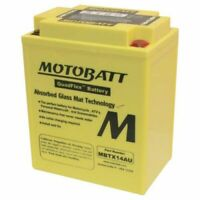 New Motobatt Battery For Polaris Ranger 4x4 500cc 11 12 13 2011 2012 2013 YB14AA