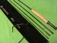 HARDY/GREYS GR10 9' #6WT FLY FISHING ROD WITH ROD SOCK NEW.