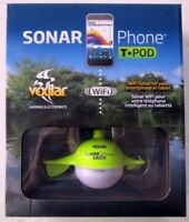 Vexilar SP100 SonarPhone Castable WiFi Fishfinder T-Pod Transducer