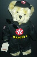 Texaco Collectible Bear Plush Speedy Havoline Racing 4th Series 2000 Box Tags
