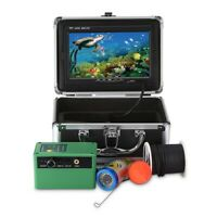 7'' 1000TVL Underwater Fish Finder Ice/Sea/River Fishing Camera Set HD Monitor