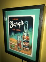Barq's Root Beer ItsGood Soda Fountain Diner Kitchen Store Man Cave Lighted Sign