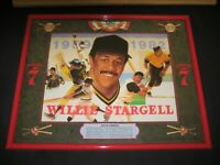 "SEAGRAM'S 7 CROWN WILLIE STARGELL BAR MIRROR 20.5"" X 16.25"