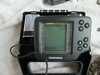 Humminbird Wide Portable Fish Finder Complete w/ Transducer & Manual
