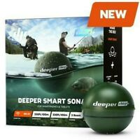 Deeper CHIRP Castable, Wireless, GPS Enabled, gps Fish Finder / Carp Fishing