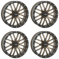 4 ATV/UTV Wheels Set 14in System 3 ST-3 Bronze 4/110 5+2 H700