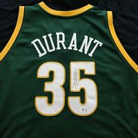 Kevin Durant Signed Adidas Seattle Sonics Size 52 Jersey Global Authentics