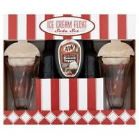 A&W ROOT BEER ICE CREAM FLOAT SODA SET, 12 FL OZ *DISTRESSED PACKAGING*