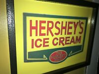 Hershey's Ice Cream Soda Fountain Diner Kitchen Lighted Advertising Sign