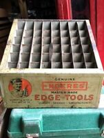 Antique Enderes Edge Tools store display cabinet 1920s HTF **