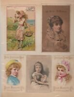 GROUP OF 10 VICTORIAN ERA SOAP ADS-LAUTZ,FISK, PROVOST'S,CROWN JEWEL,ETC