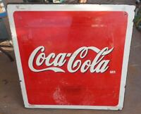 Coca Cola Metal  Porcelain Sign Table Top  From Mexico