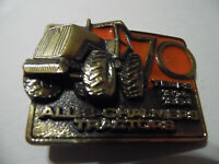 Vintage 1984 70 Years Limited Edition ALLIS-CHALMERS Tractor Brass Belt Buckle