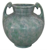 Roseville Pottery Carnelian II Blue And Green Ceramic Vase 313-9