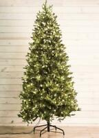 HOLIDAY LIVING 7.5' PRELIT MONTANA SPRUCE ARTIFICIAL CHRISTMAS TREE