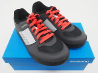 New! Shimano GR5 Women's Mountain Bike Cycling Shoes Size EU 40 US 8 Gray/Red