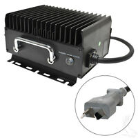 Golf Cart Battery Charger CLUB CAR EZGO YAMAHA 36 Volt Crowsfoot Plug