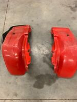 OEM REAR FENDERS PLASTIC 1982-85 200E BIG RED 200ES 200M ATC HONDA 3 WHEELER ATV