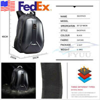 Large Capacity PVC Waterproof Motorcycle ATV Helmet Bag Luggage Tank Backpack X1
