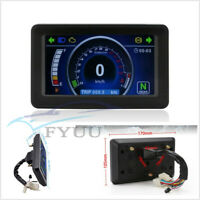 12V Motorcycle ATV Multifunctional LCD Display Speedometer Odometer Tachometer*1