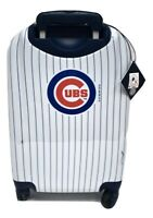 G III MLB Chicago Cubs Baseball Luggage 20quot; Spinner Carry On Suitcase PVC NWT