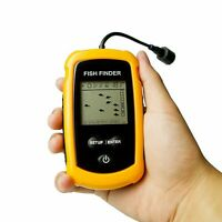 Portable Fish Finder Depth Sonar Fishfinders Ice Kayak Canoe Fishing Venterior
