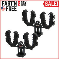 NEW ATV Gun Rack Flexible Grips Rifle Mount Shotgun Pole UTV Holder Automotive