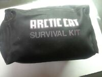 Vintage Arctic Cat Snowmobile Rare Survial Kit Complete Unused Outstanding